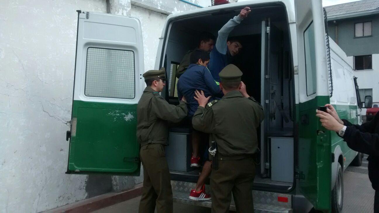 Detienen a banda que asaltó distribuidora de gas en Talca
