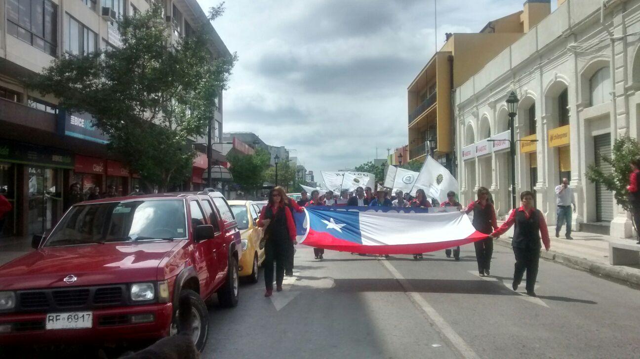 ANEF apoyó en Talca a los trabajadores del Registro Civil