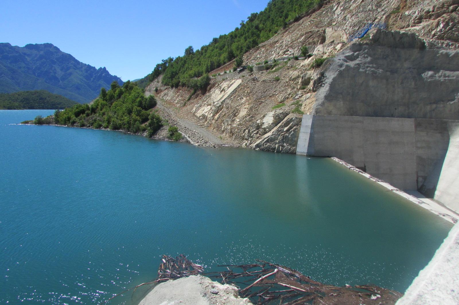 Embalse Ancoa en su máxima capacidad para asegurar el riego