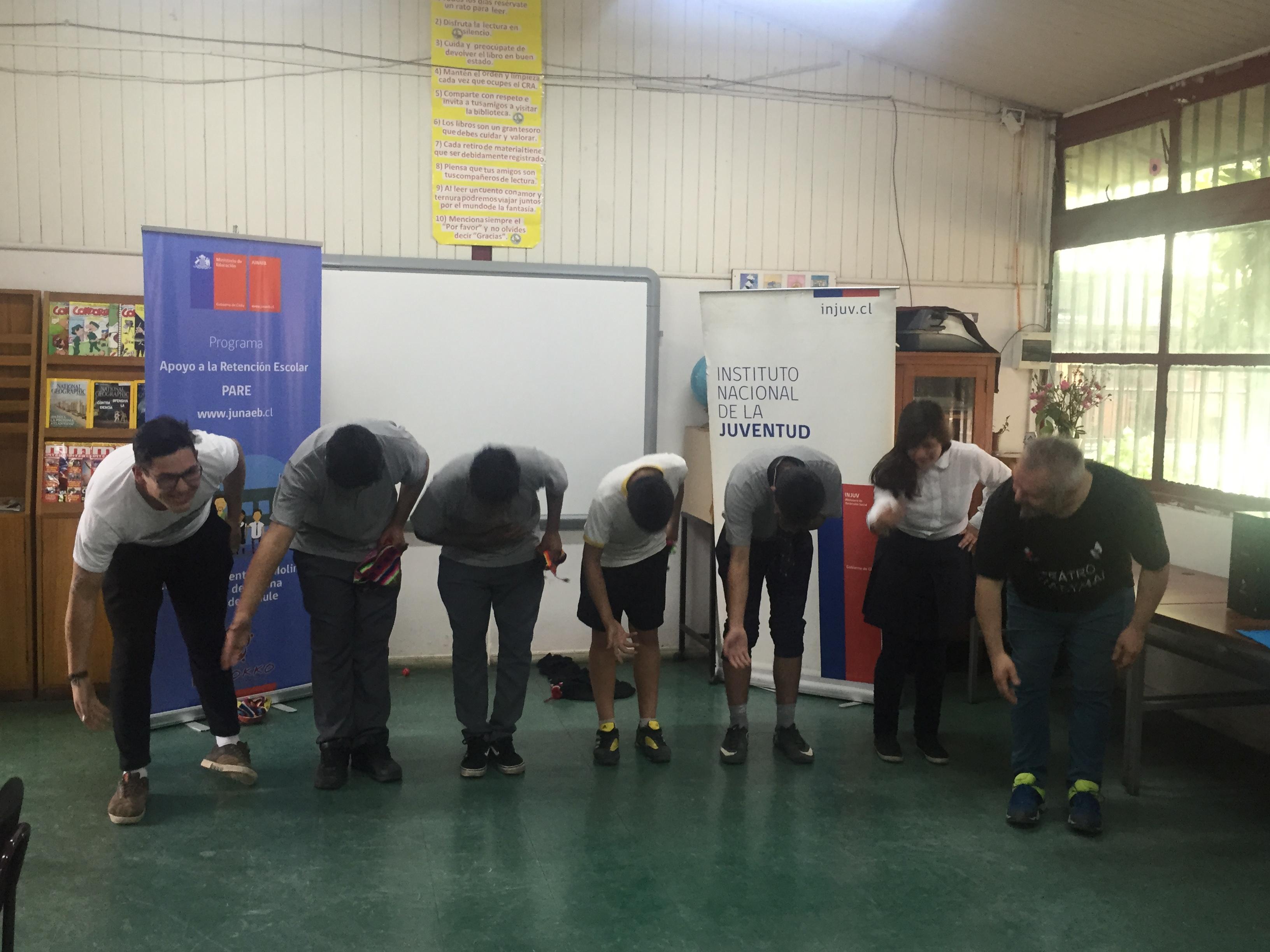 Finaliza la ruta de la risa en la región del Maule con talleres de clown