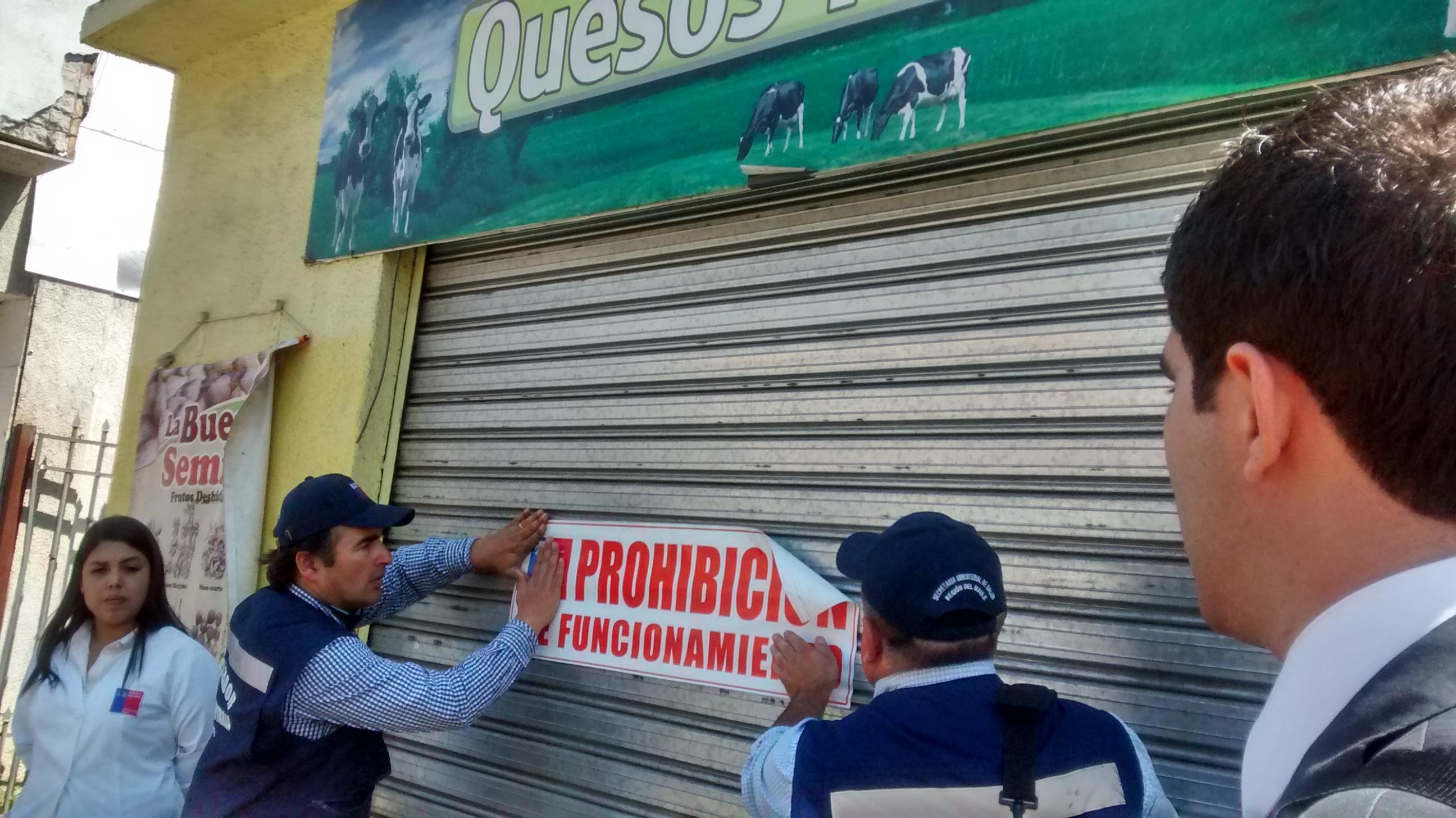 Salud del Maule ordena clausura de quesería en Talca