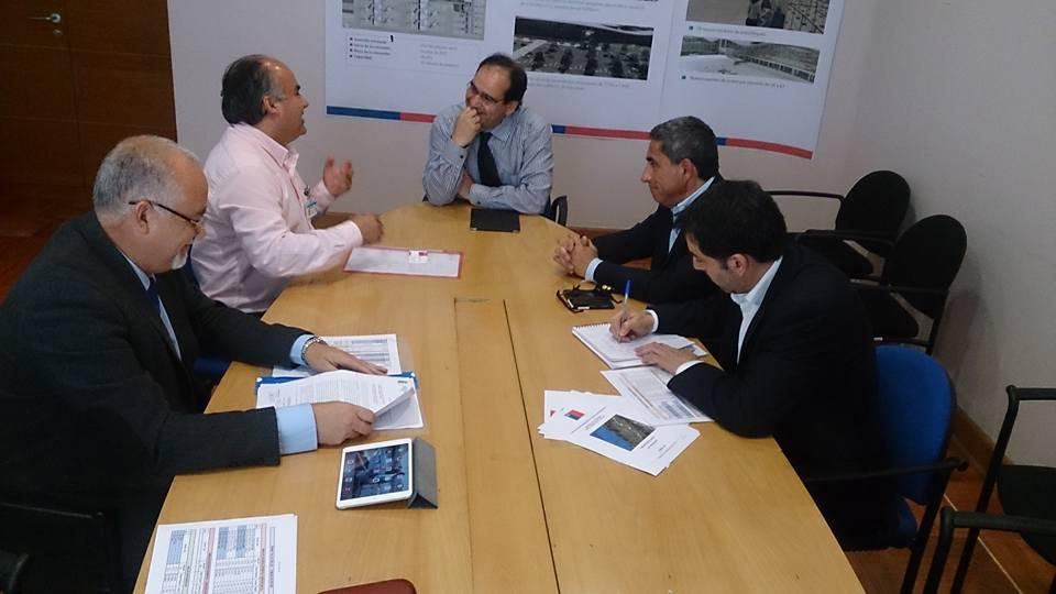 Alcalde de Retiro sostiene reunión con el coordinador de concesiones de Obras Públicas