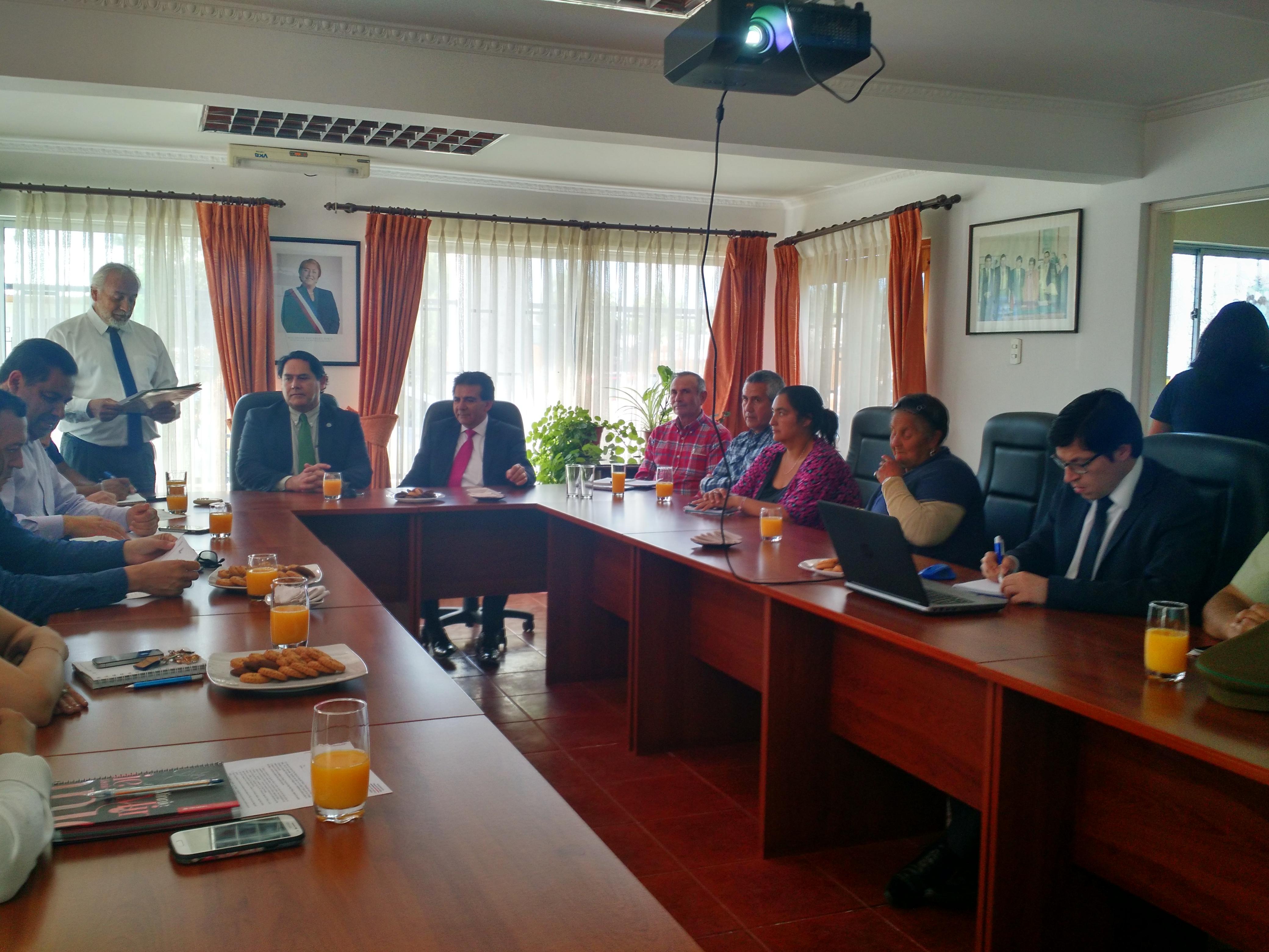 Maule instala su consejo comunal de seguridad pública