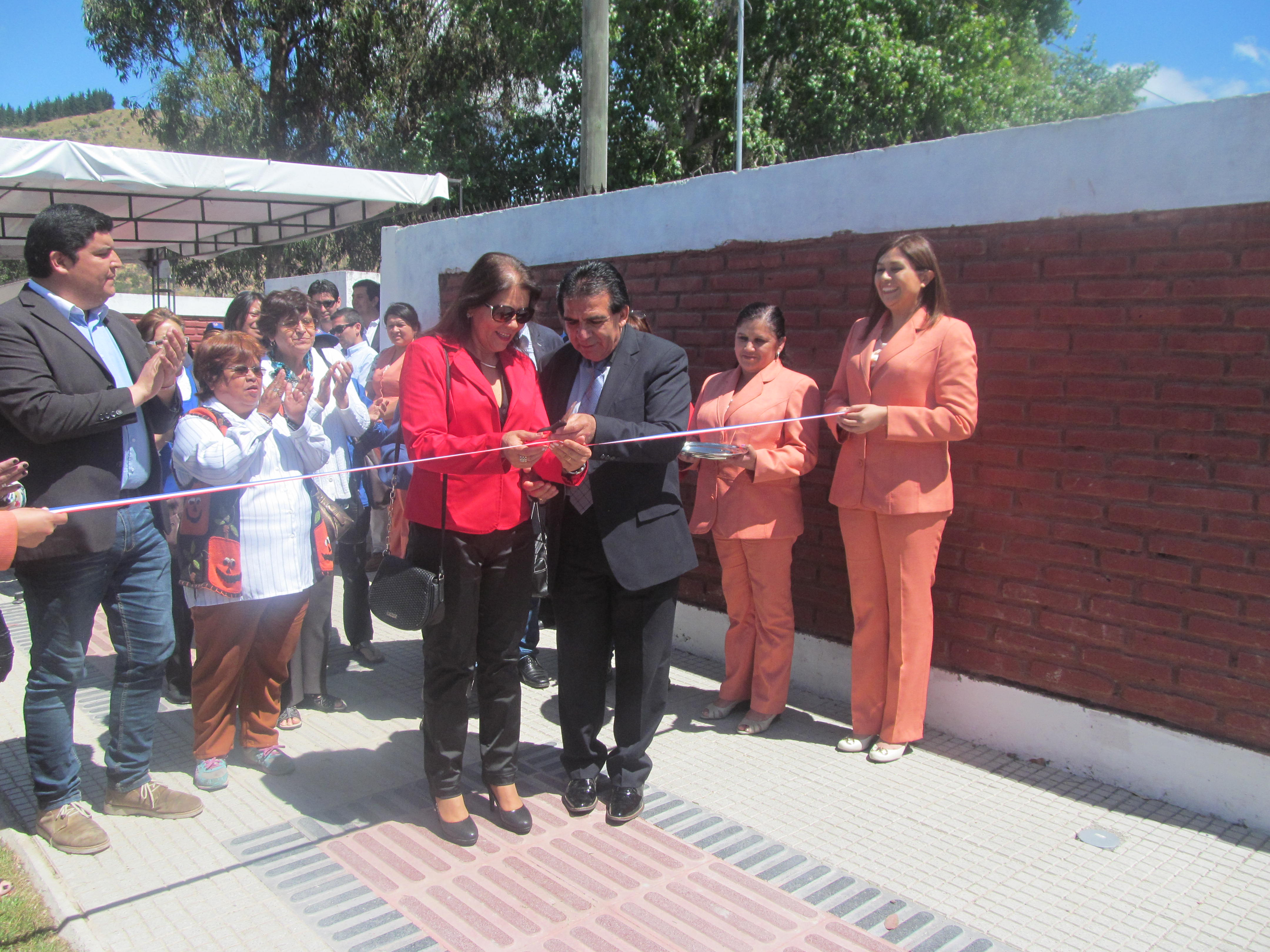 Inauguran paseo peatonal Balmaceda de Maule.