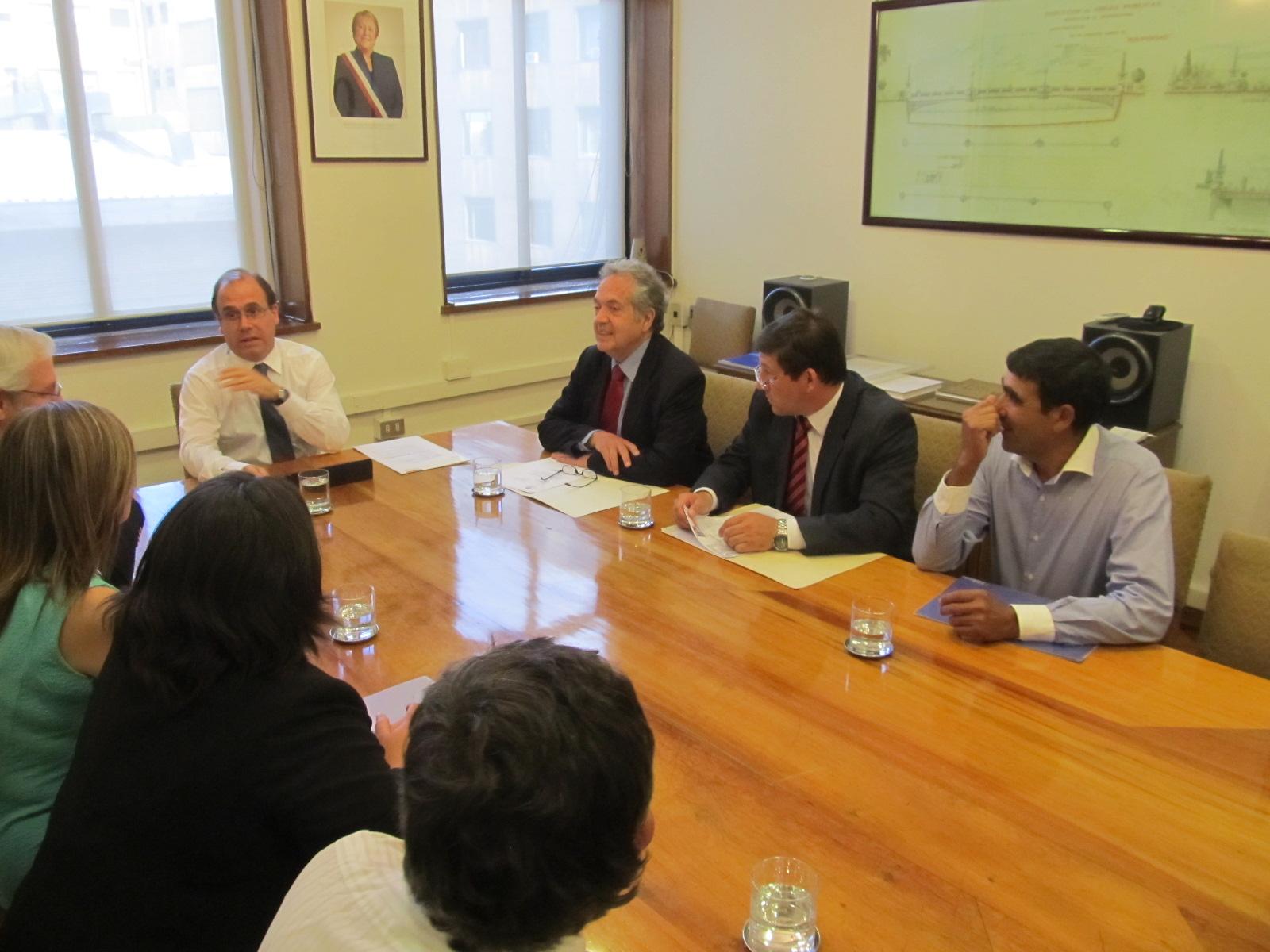 Ceroni pide intervenir la ruta Talca-Chillán