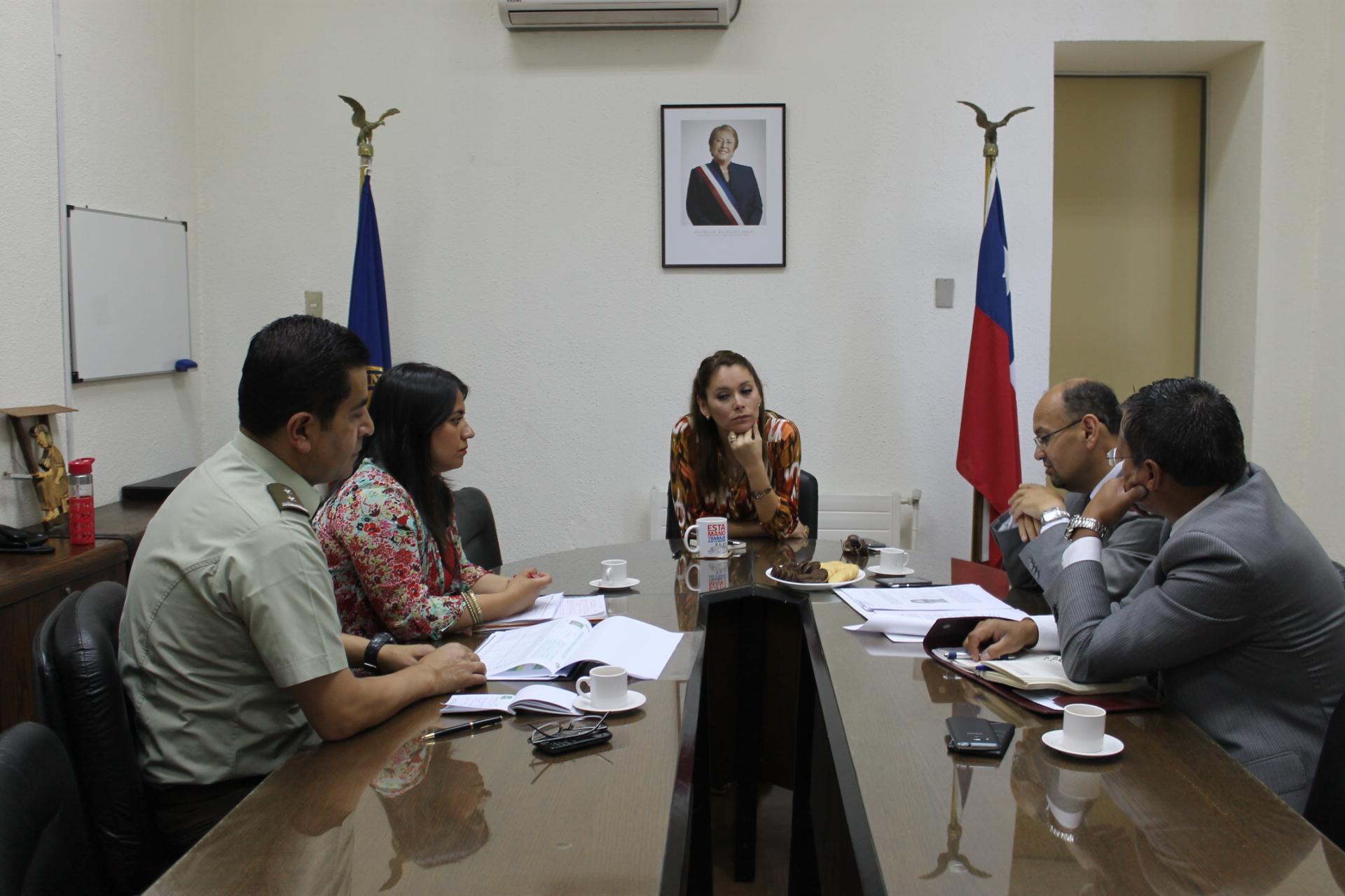 Comité Policial abordó medidas de prevención de delitos en fiestas de fin de año