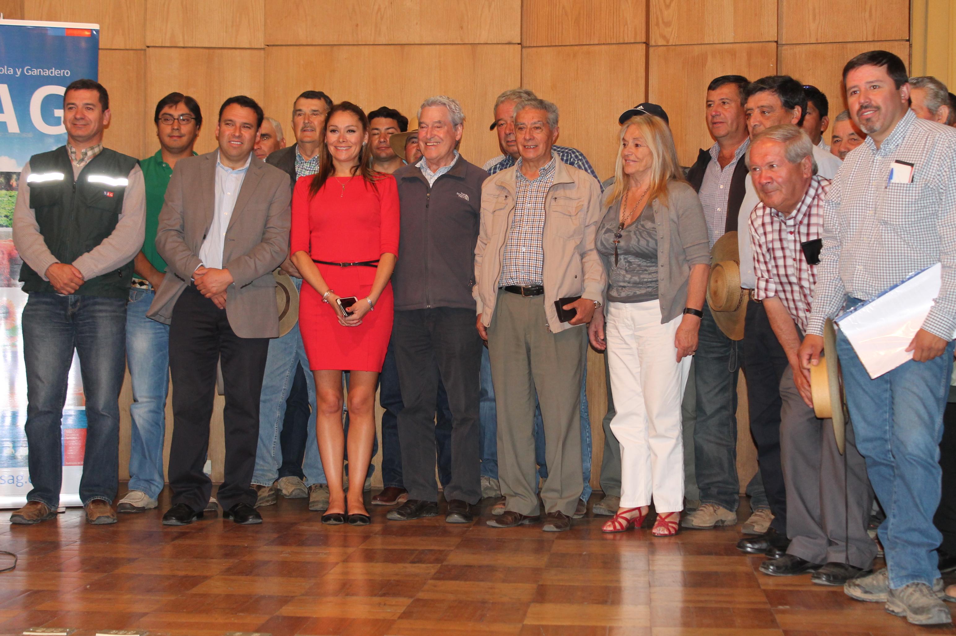 El SAG distribuyó incentivos del programa de recuperación de suelos