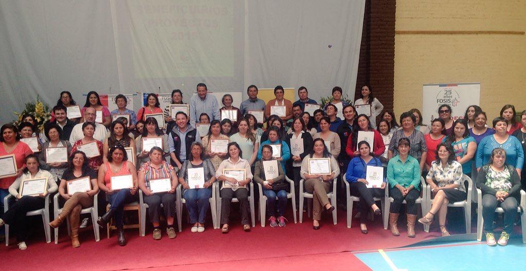 100 emprendedores surgen junto al FOSIS en la comuna de Vichuquén