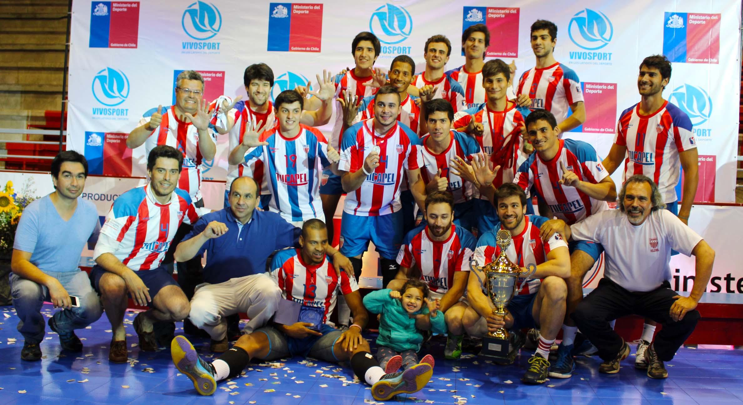 Linares se corona por sexta vez campeón de la Liga chilena de Voleibol
