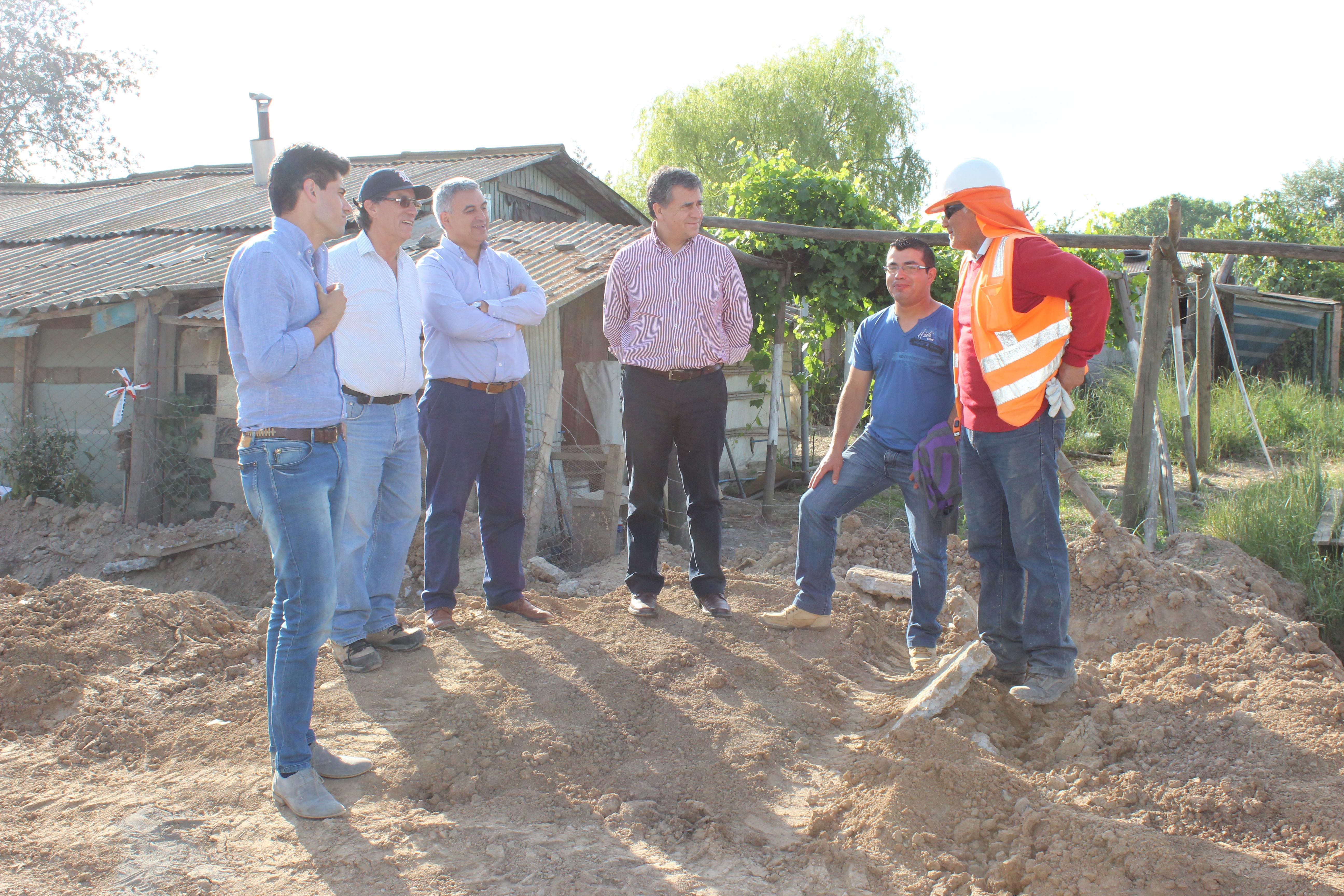 Avanza proyecto de alcantarillado y agua potable en localidad de Putagán