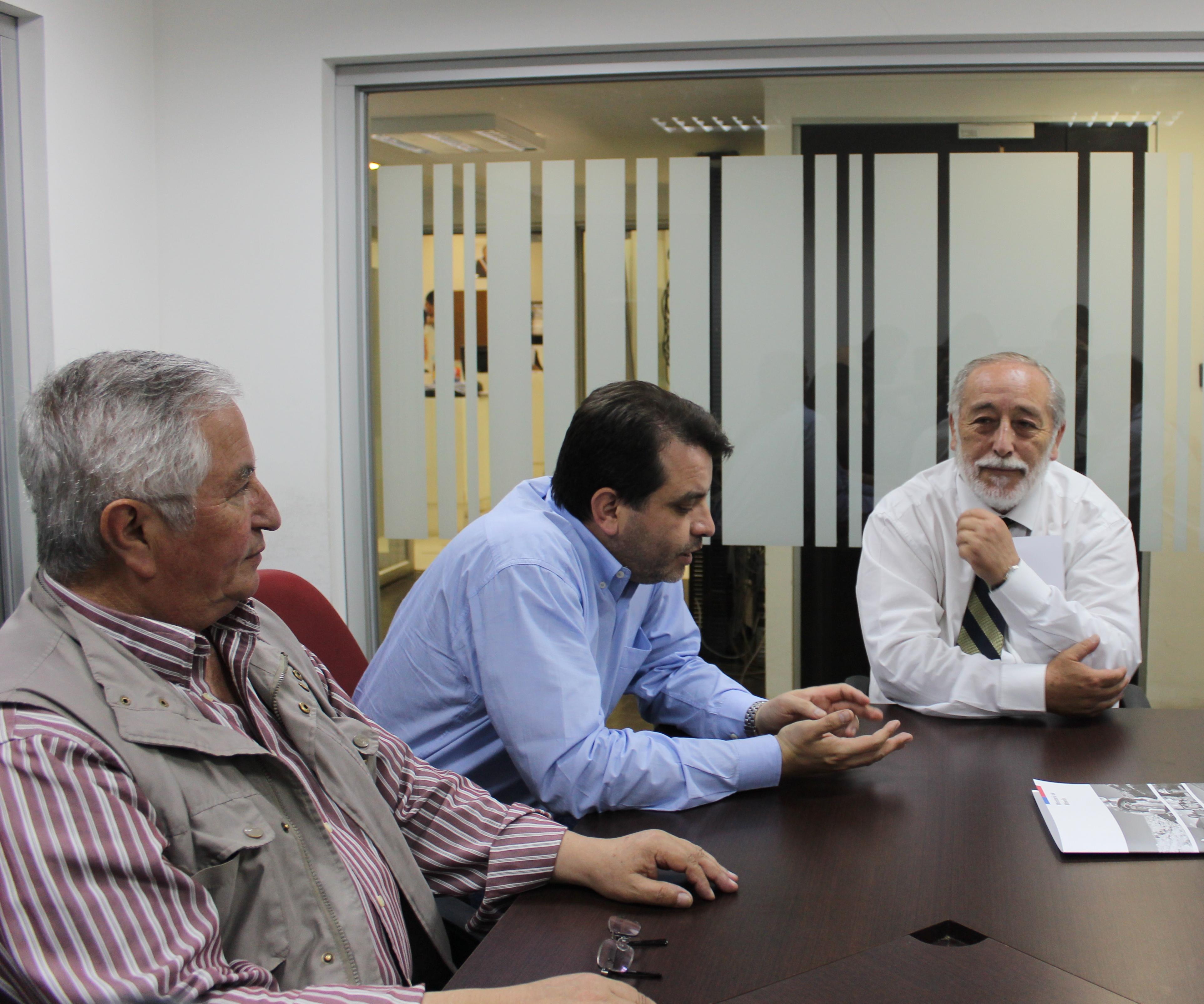 Subsecretario de Minería e Intendente del Maule Pablo Meza,  analizan oportunidades mineras en la región
