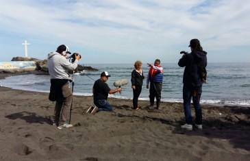 Pescadores de Curanipe protagonizan programa de televisión