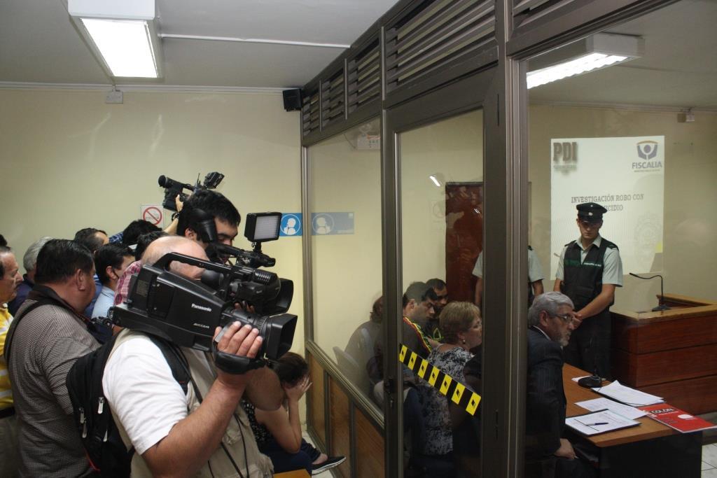 Por robo con homicidio de pareja de profesores, fueron formalizados  tres sujetos en Linares