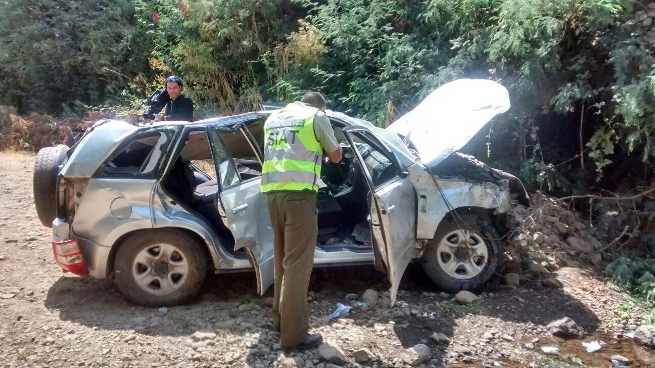 Conmoción pública genera muerte de hijo de Alcalde de San Clemente Juan Rojas en trágico accidente de tránsito en Vilches