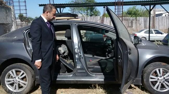 Delincuentes se apropiaban de vehículos utilizando un falso taller mecánico.