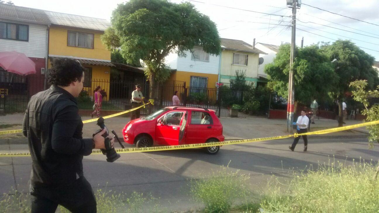 Acribillan a joven de cinco impactos de bala, mientras circulaba en su vehículo por Población San Luis de Talca