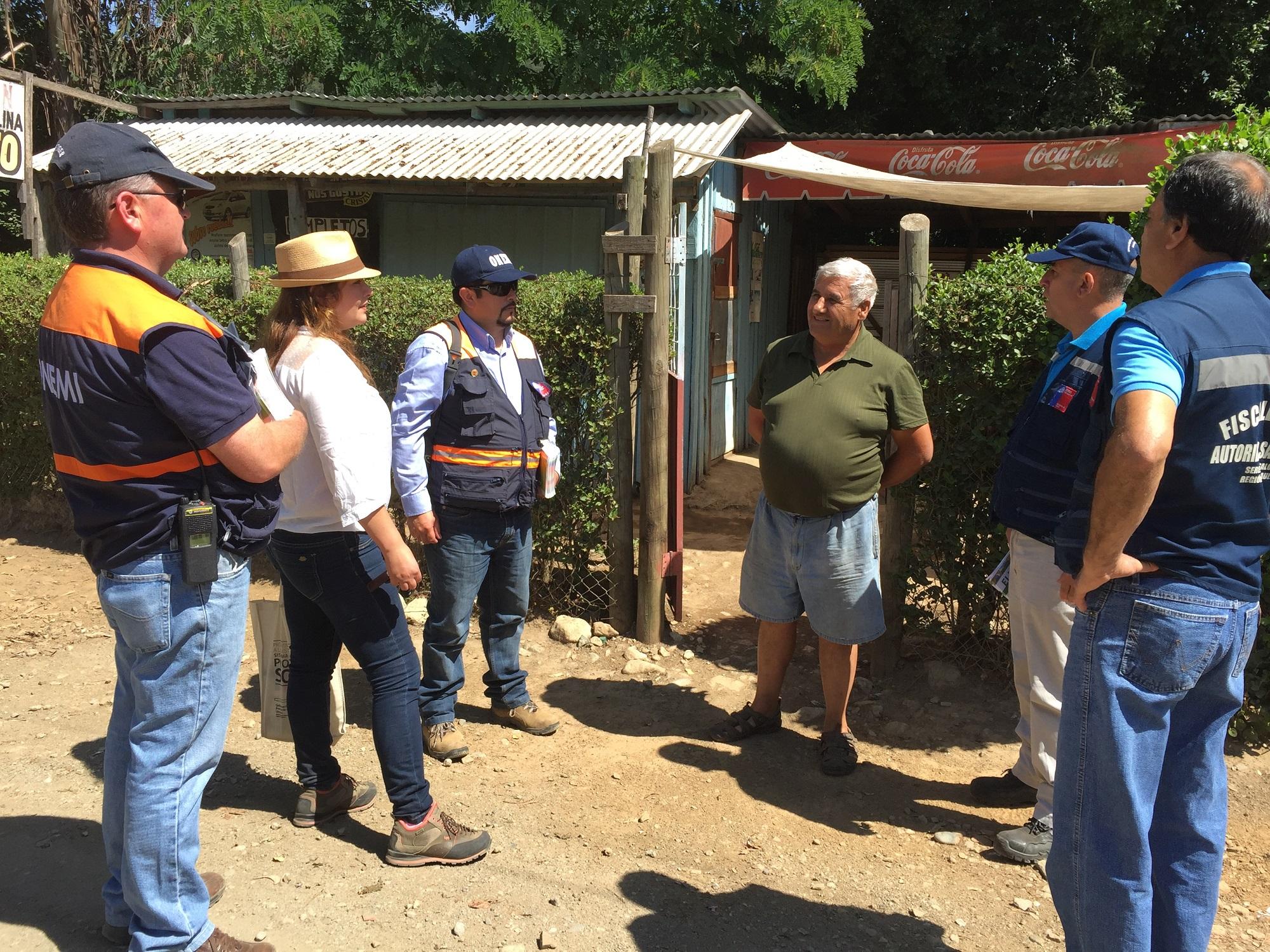 Autoridades llaman a prevenir incendios forestales y accidentes de tránsito en cajones del Achibueno y Ancoa