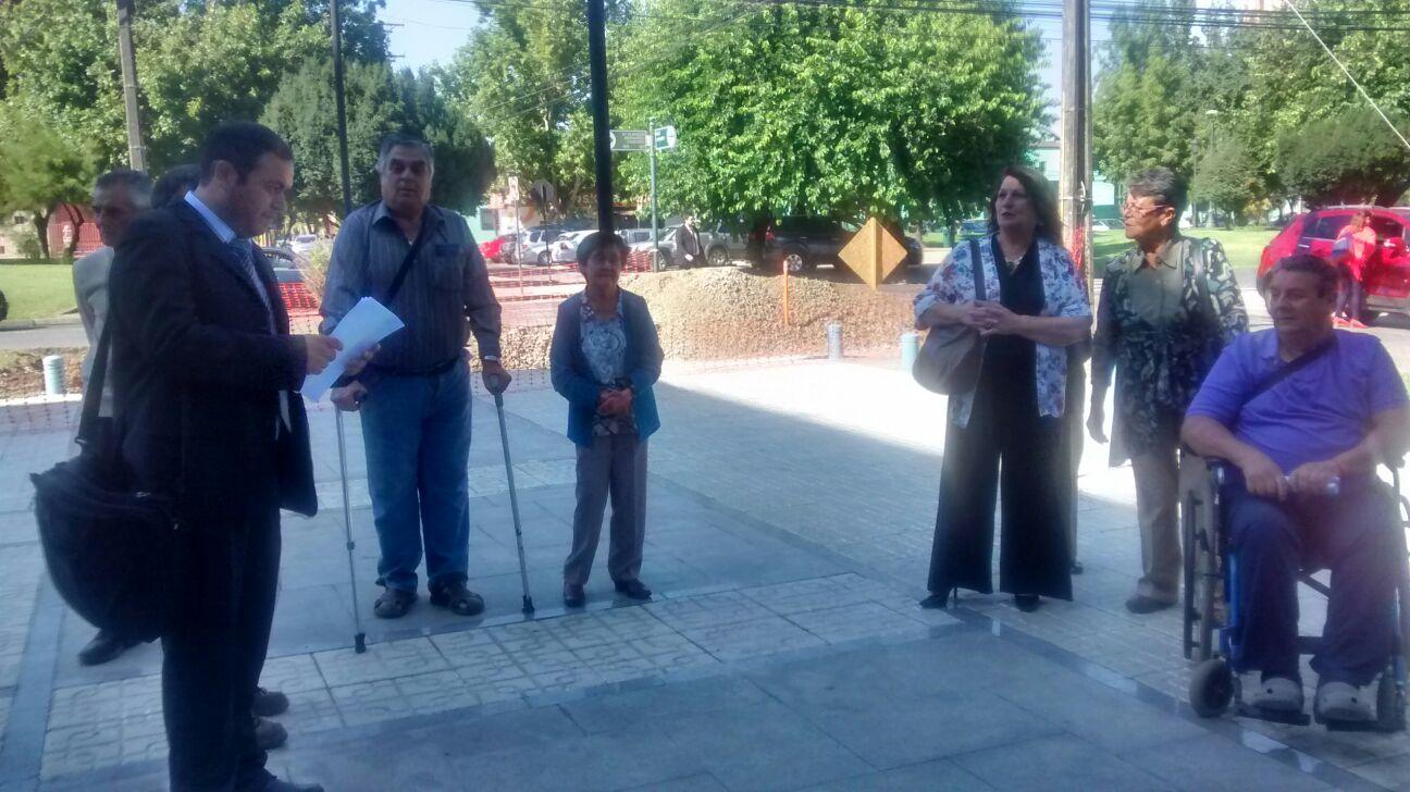 """Familia acusa a la Municipalidad de Talca, de apropiarse de una parte de su terreno,  en donde opera el actual relleno sanitario """"El Retamo"""""""