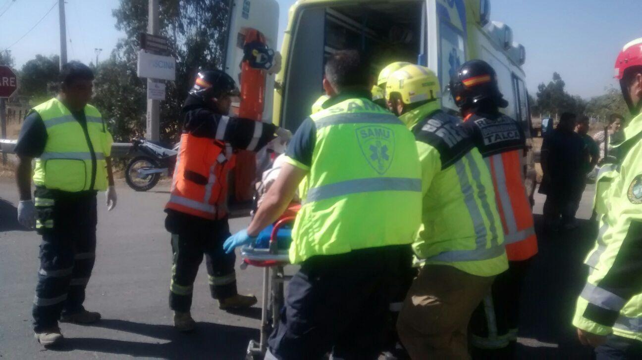 Muere mujer embarazada  tras violenta colisión frontal en ruta a Unihue comuna de Maule