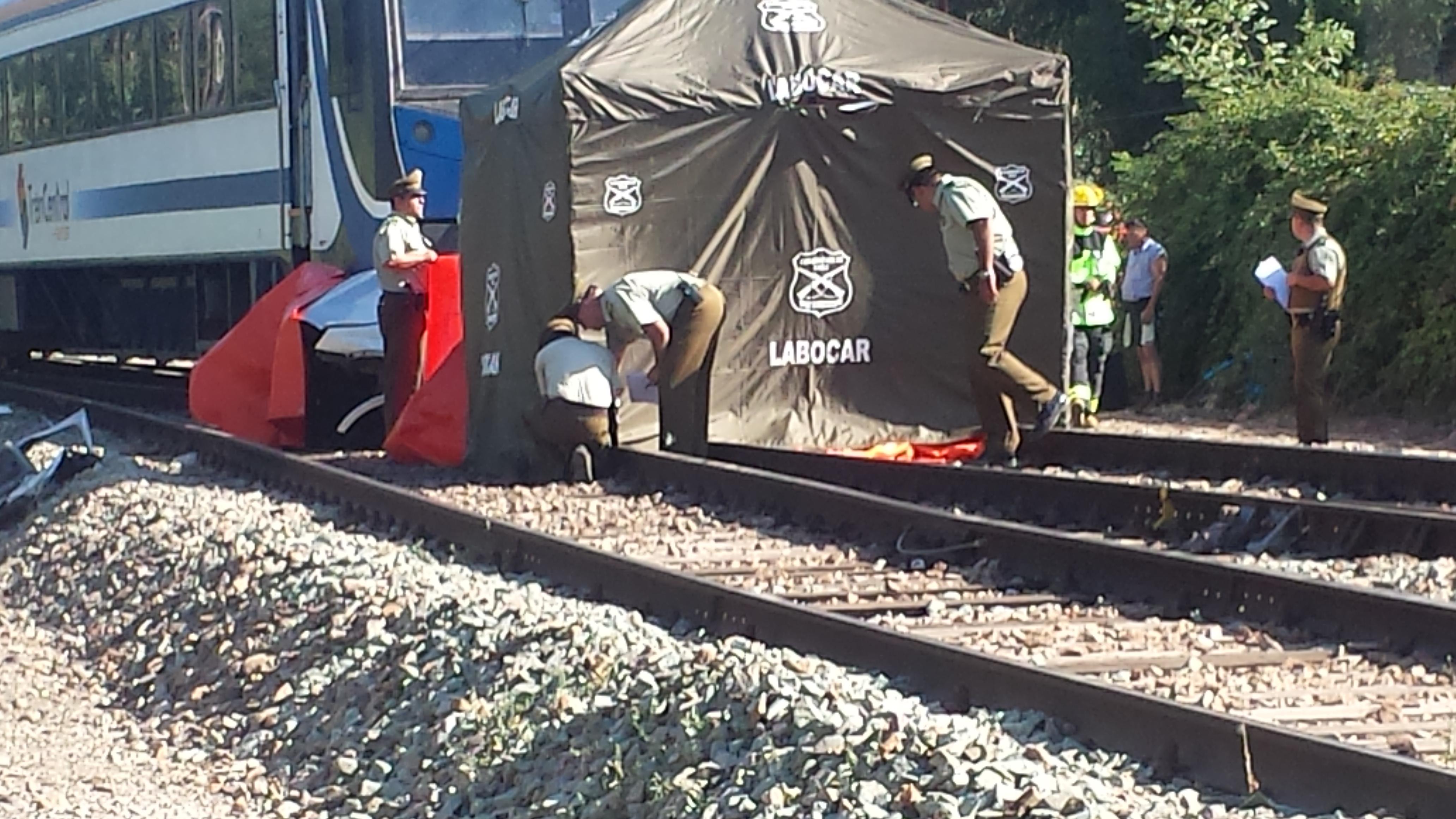 Fotos: Siete muertos y un menor grave fue el saldo de choque de tren con automóvil en línea férrea frente a San Javier