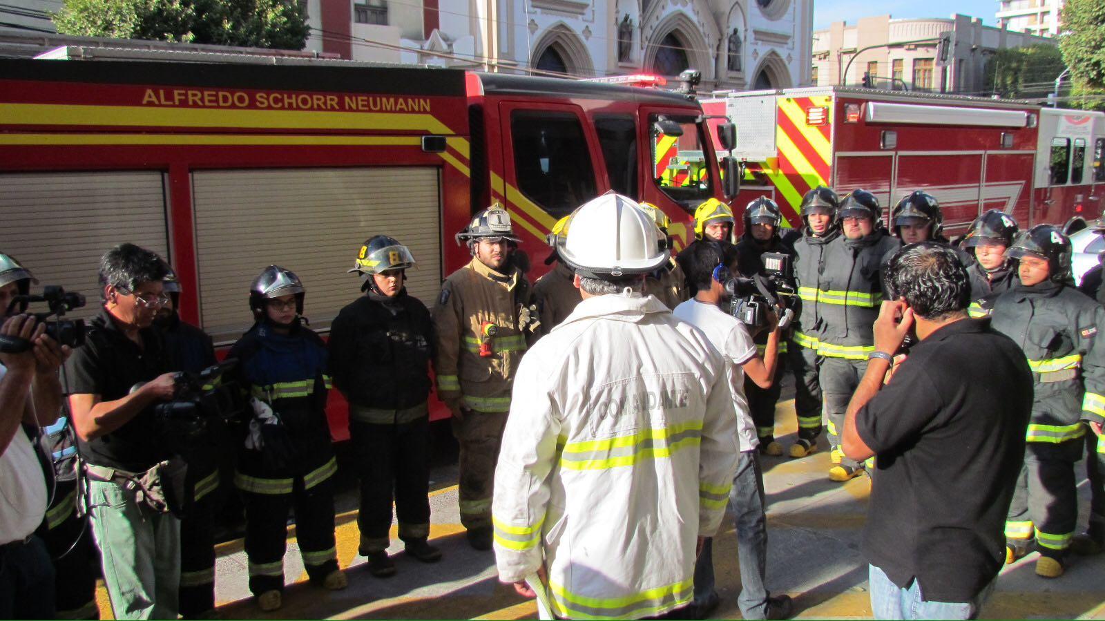 Gobierno respaldó a bomberos y repudió  agresiones que han sufrido sus voluntarios, en incendios registrados en Talca.