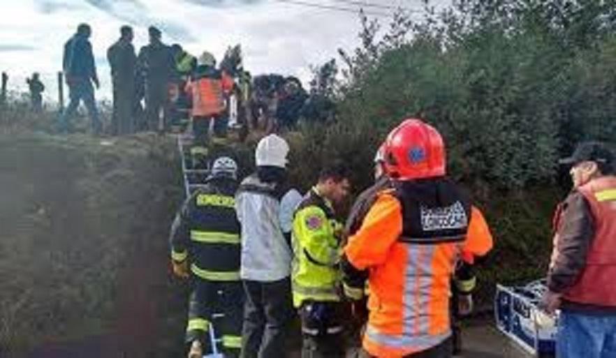Un muerto y dos heridos deja colisión en ruta Cauquenes-Chanco