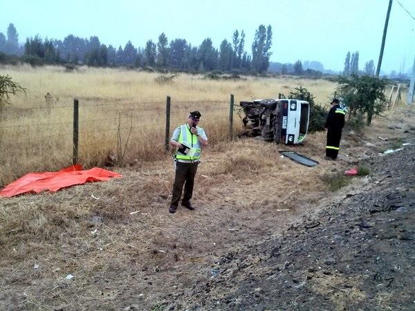 Fatal jueves dejó tres fallecidos y varios heridos en accidentes de tránsito en la Región del Maule