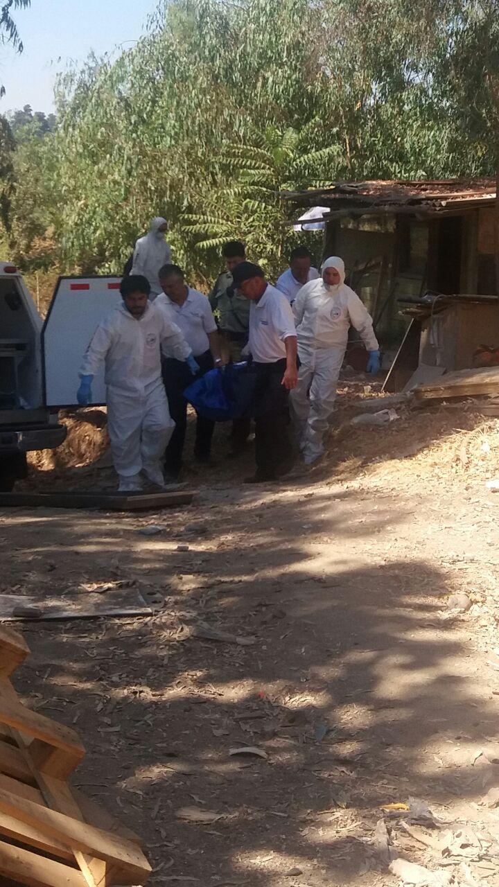 La BH de la PDI  descarta intervención de terceros en muerte de hombre al interior de  mediagua en  ribera poniente del Río Claro en Talca.