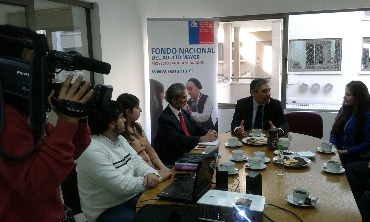 SENAMA del Maule efectuó lanzamiento de los Fondos para Ejecutores Intermedio