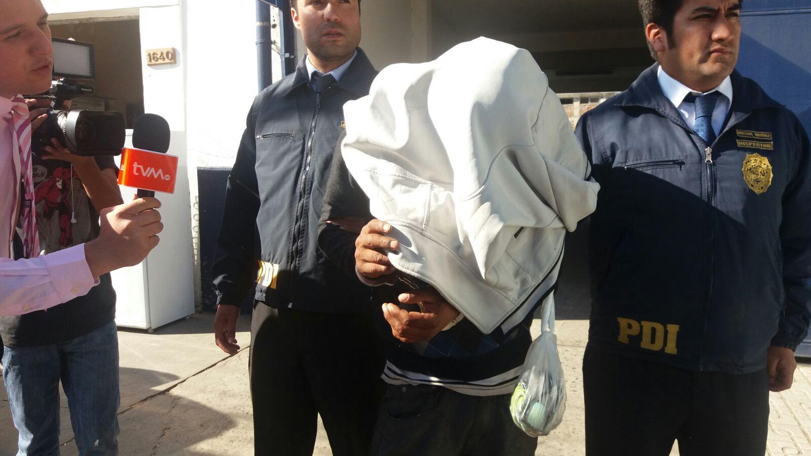 La PDI detiene a hombre que violó a menor de 13 años en sitio eriazo de Talca