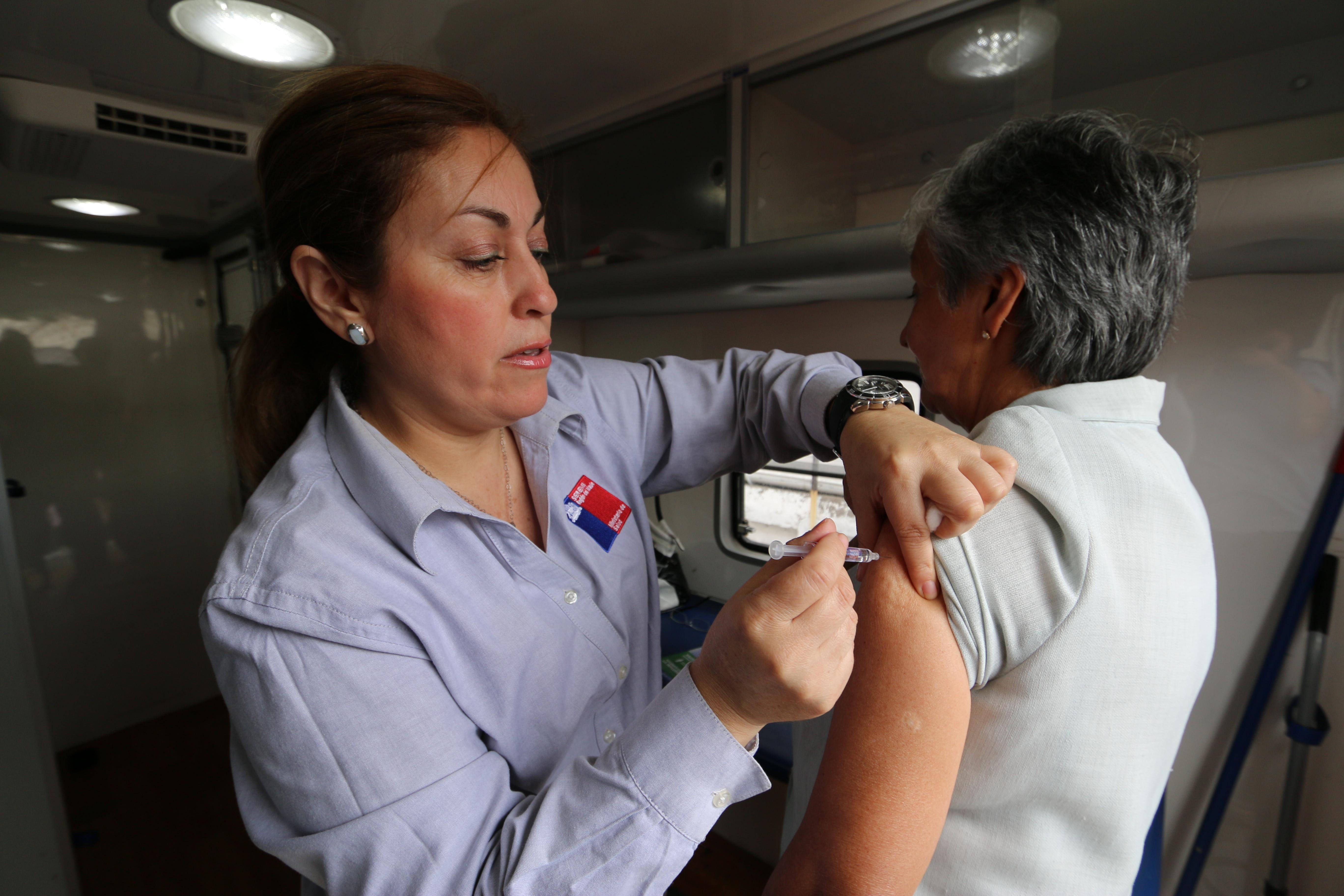 Autoridades sanitarias dan el vamos a la campaña contra la Influenza en el Maule