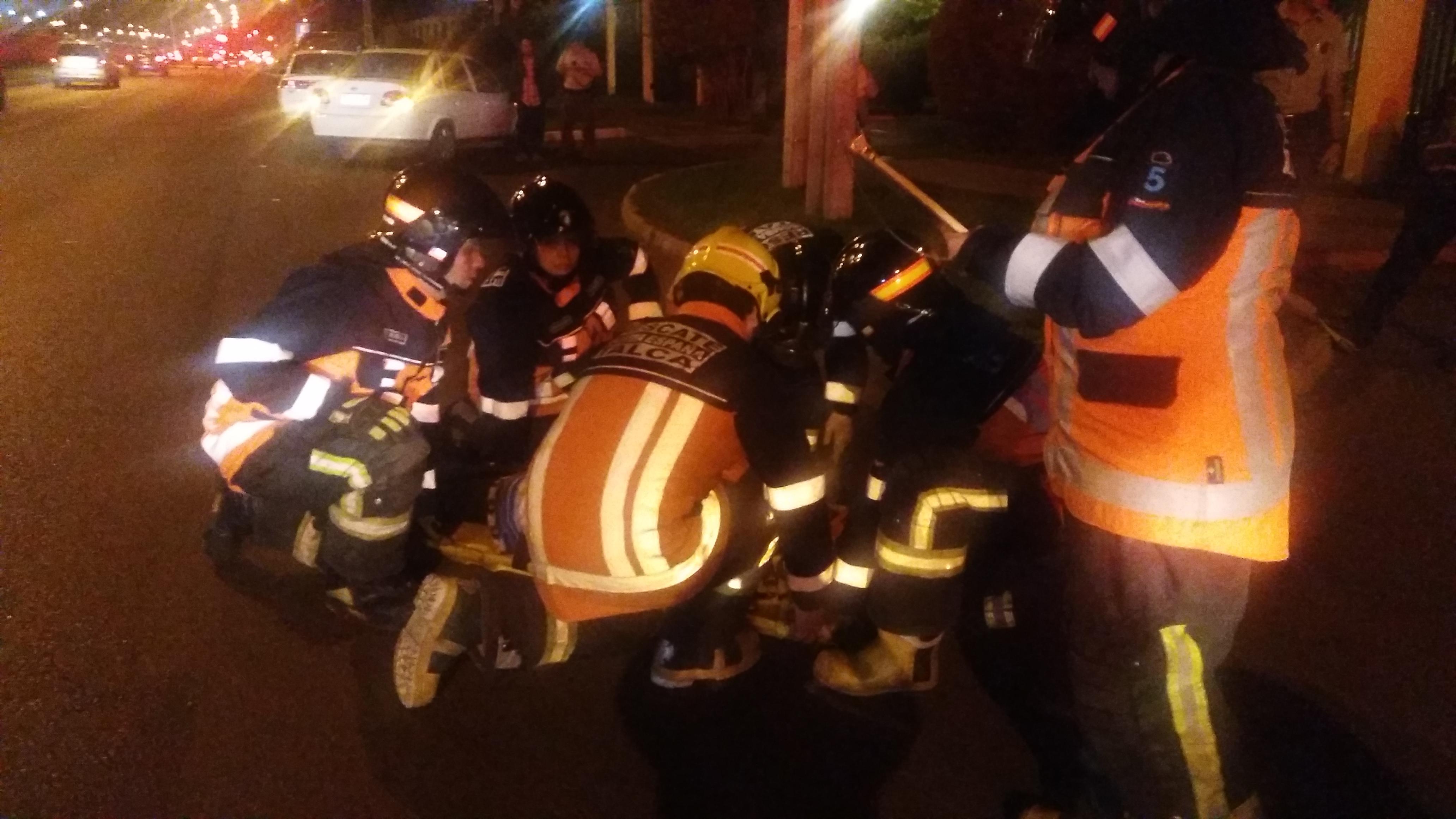 Mujer resulta herida tras ser atropellada en avenida Colín casi con 25 sur en Talca