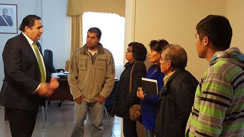 Hermano de joven desaparecido en Reserva Nacional Altos de Lircay, se reunió con Gobernador de Talca