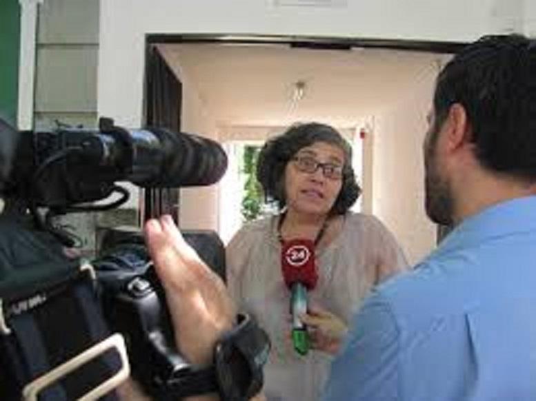Directora de Sernam condenó violencia contra una mujer en dependencias de INDAP Curicó.