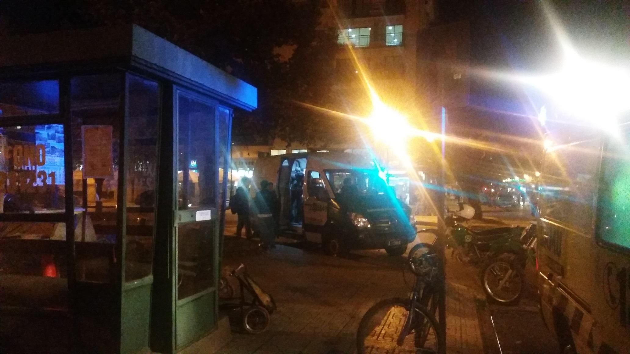 Estudiante del Liceo INSUCO es apuñalado en pleno centro de Talca