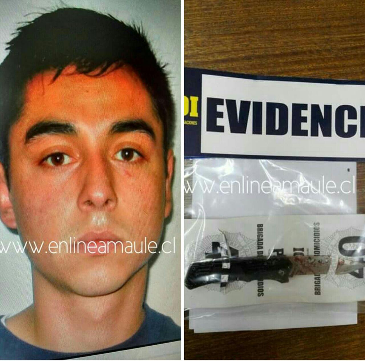 En prisión queda sujeto formalizado por  femicidio frustrado tras apuñalar a su pareja en Linares
