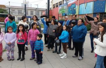 Nueva manifestación desarrollan apoderados y alumnos de la Escuela José Manuel Balmaceda y Fernández, exigiendo ser reinstalados en lugar digno
