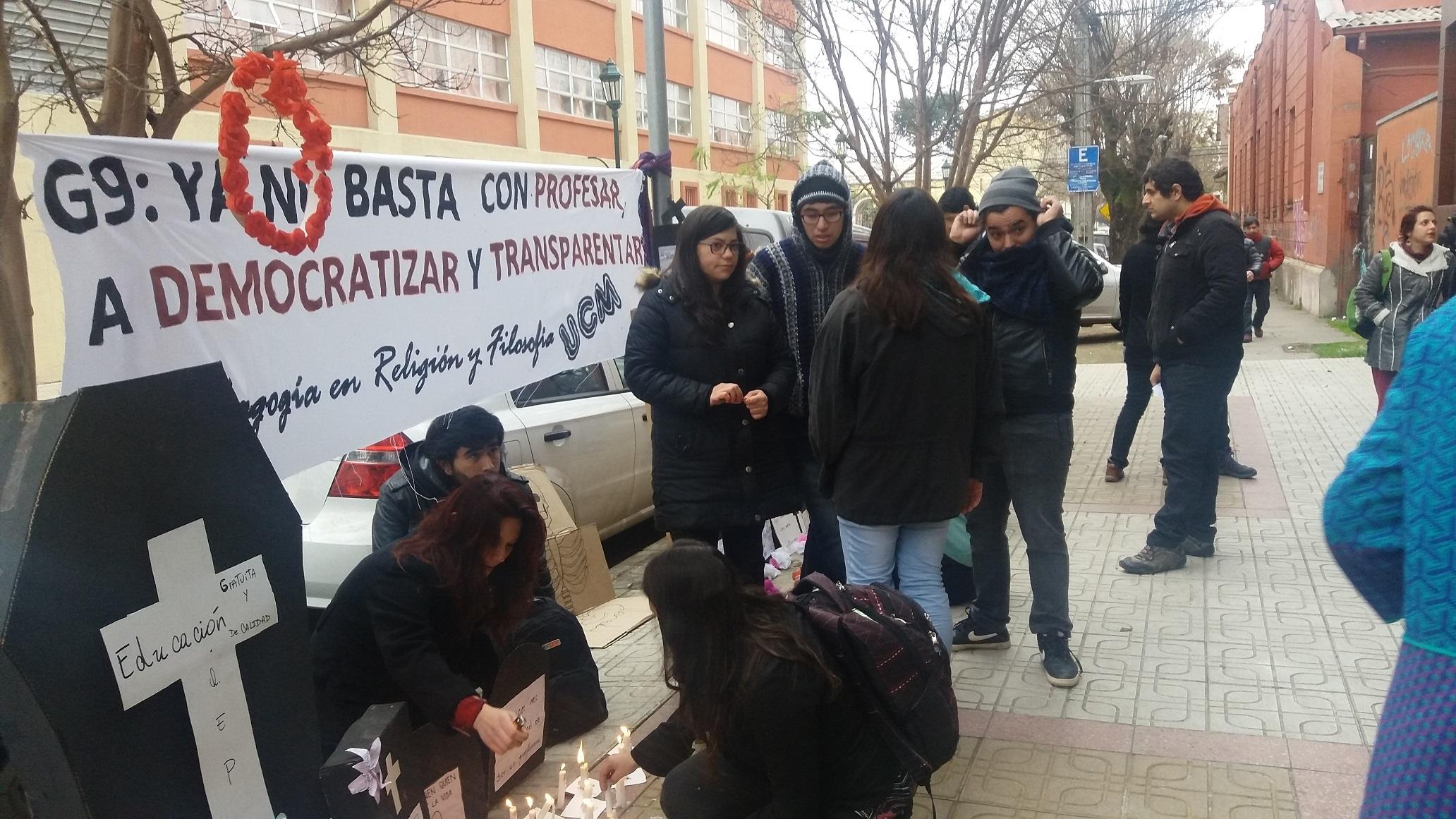Consejo de Rectores de Universidades Chilenas, rechazan en Talca, Reformas Educacionales