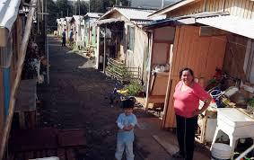 En un 41,6% crecieron los campamentos en Chile