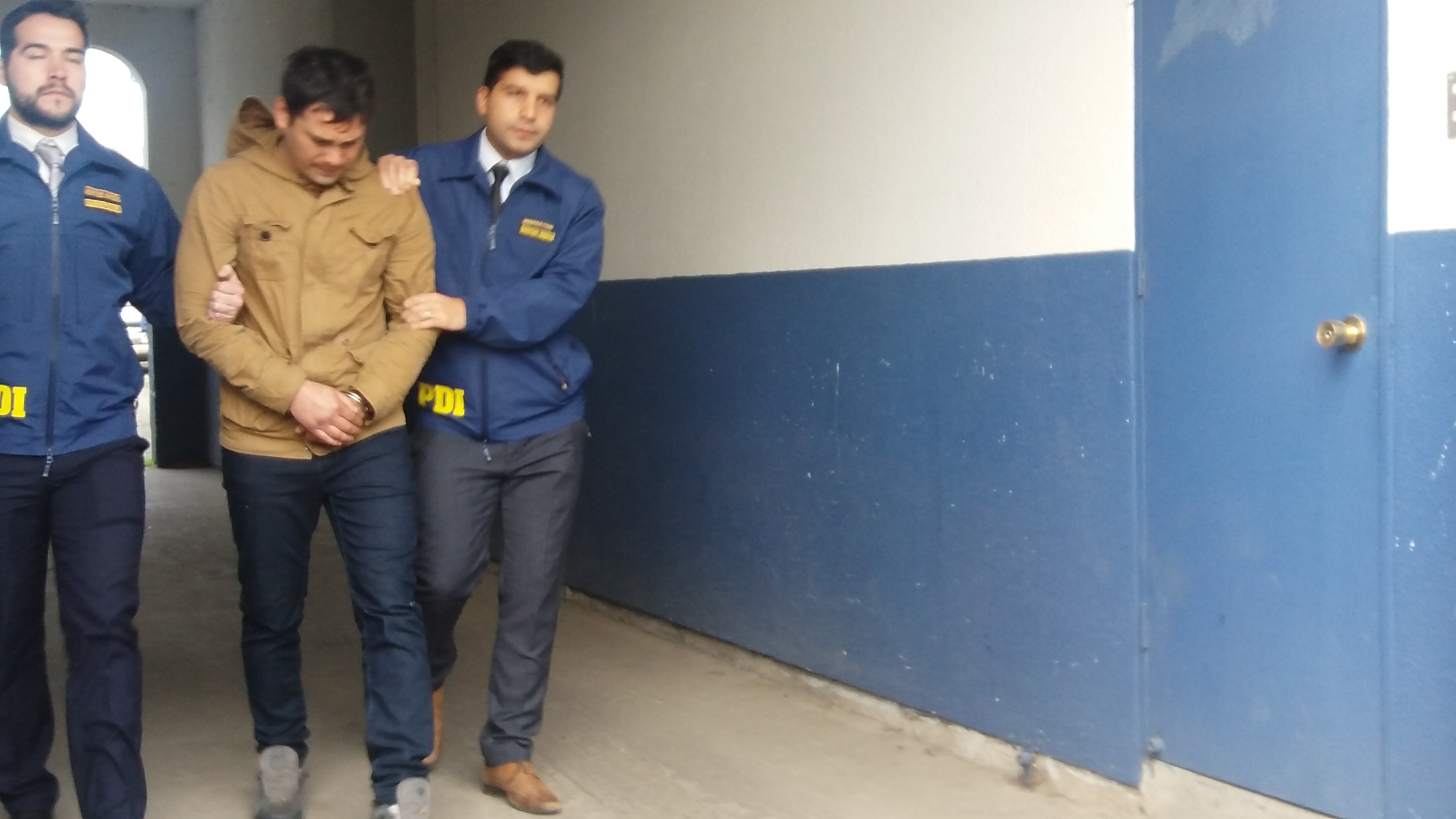 La PDI detiene a peligroso antisocial, que agredió brutalmente a su pareja en Talca