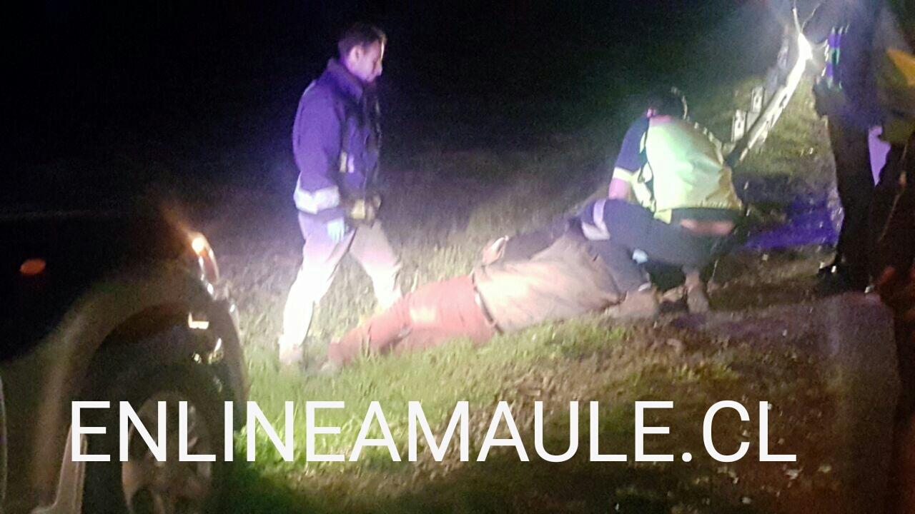 Acusan a hombre de intento de abuso sexual tras sufrir accidente en  pasarela de Unihue en Maule