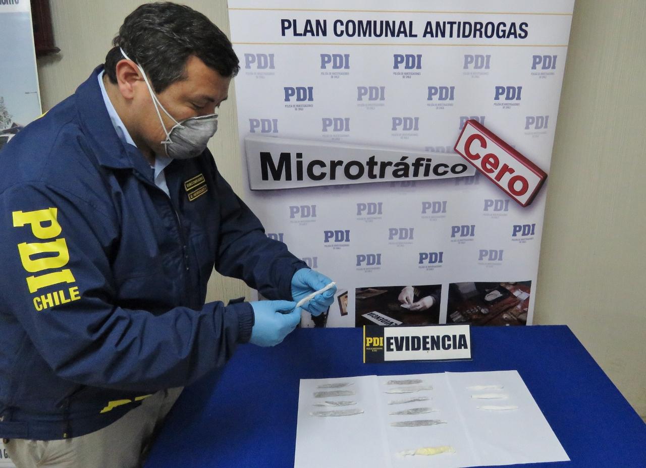 PDI de Cauquenes detiene a mujer que intentó ingresar droga a la cárcel en envases de pasta dental
