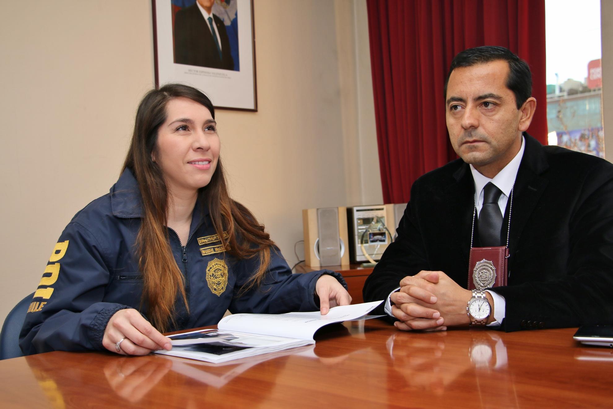 PDI de Talca, incorpora a médico para trabajo en la Brigada de Homicidios