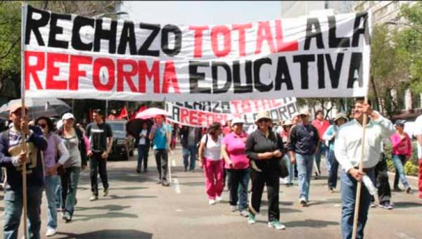 Profesores iniciarán movilizaciones por últimas reformas del gobierno