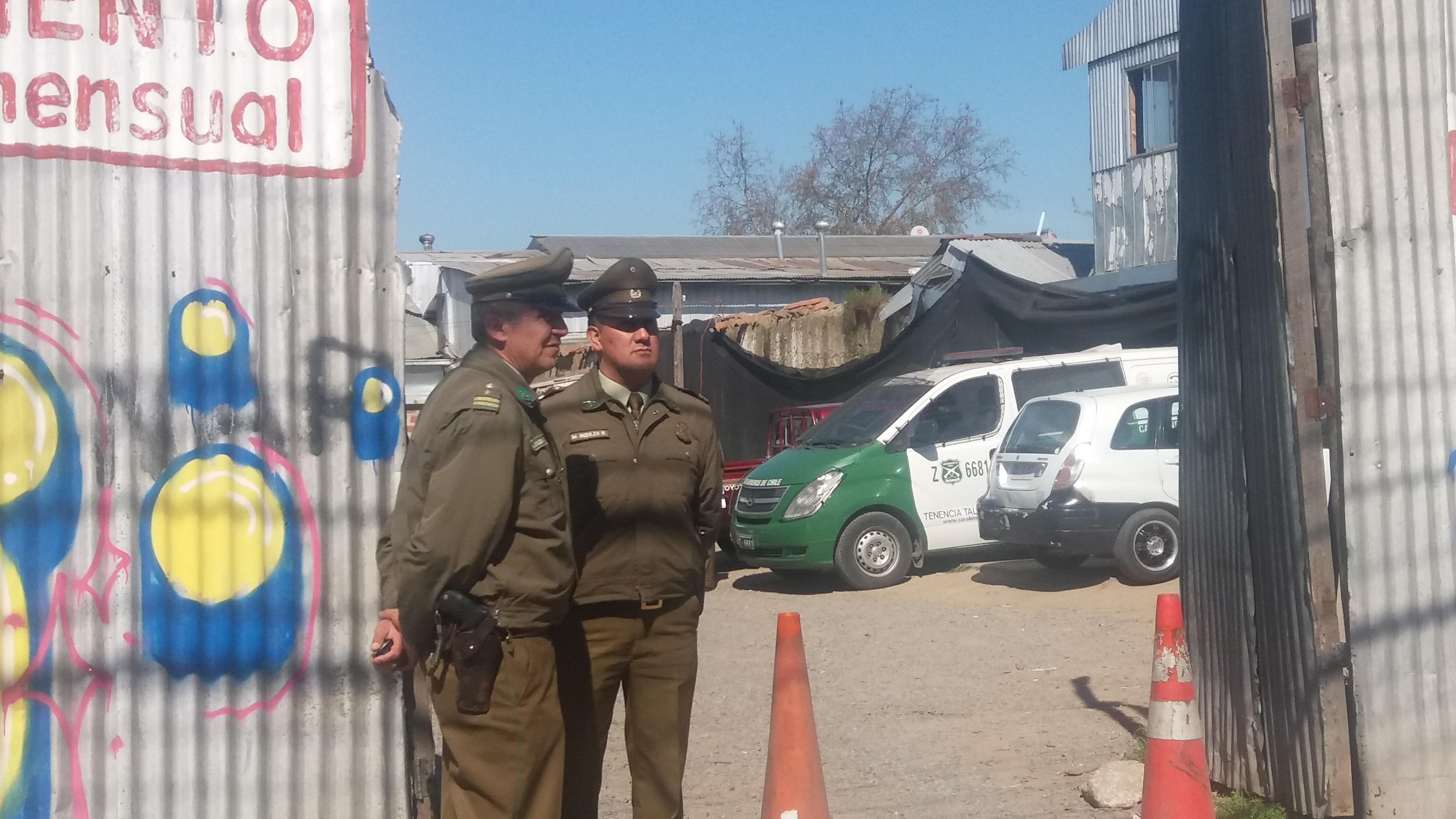 Trabajador encuentra la muerte al interior de estacionamiento en inmediaciones del terminal de buses de Talca