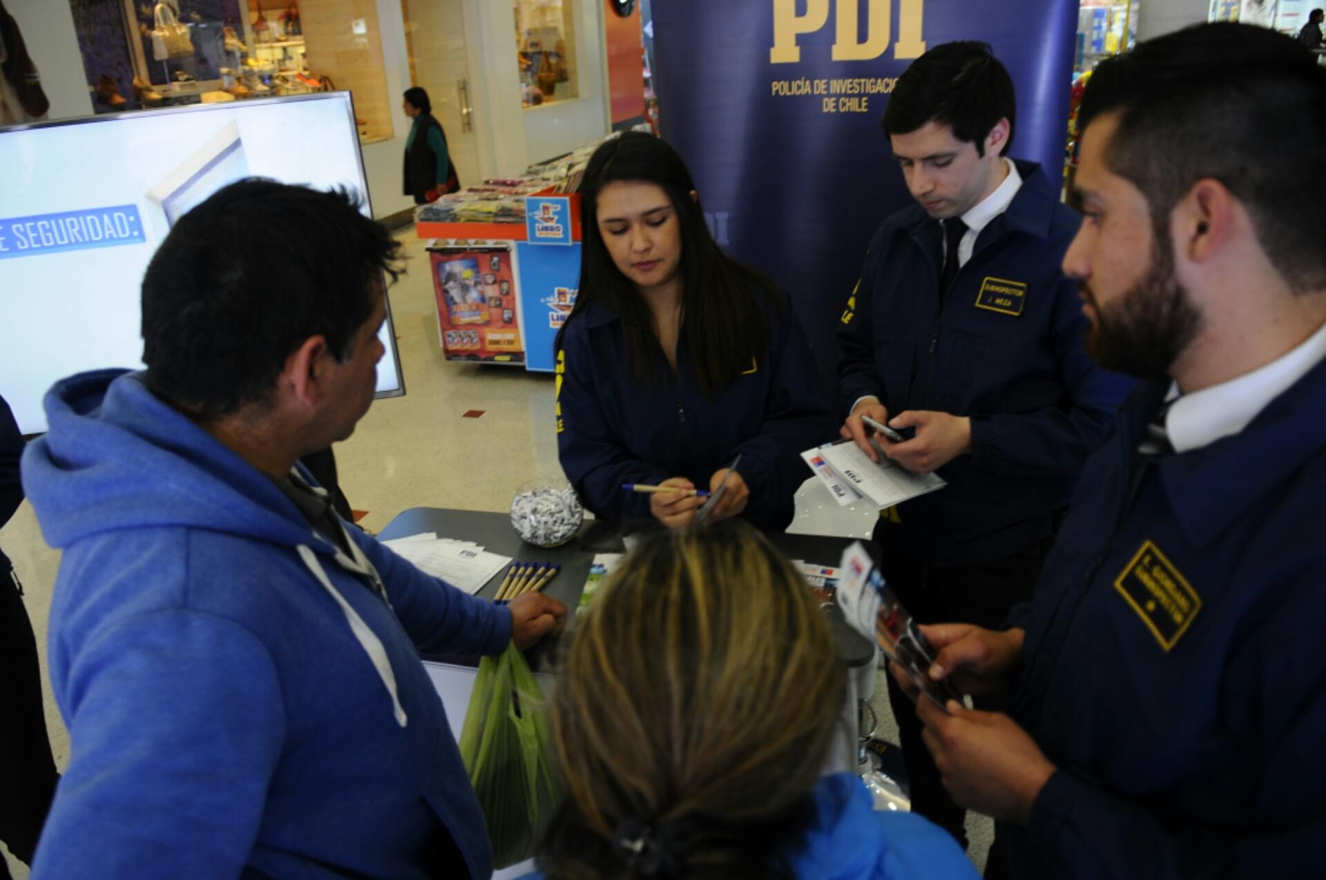 PDI Lanza campaña de prevención de robo de casas
