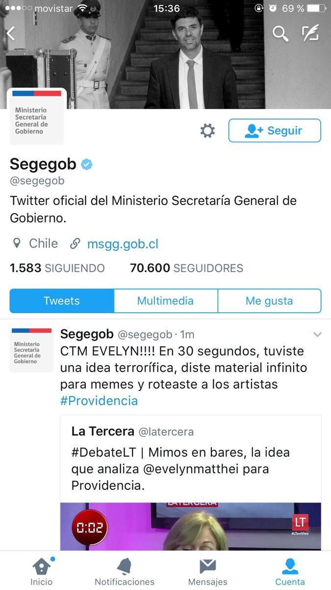 Gobierno aclara tuit en contra de candidata de oposición