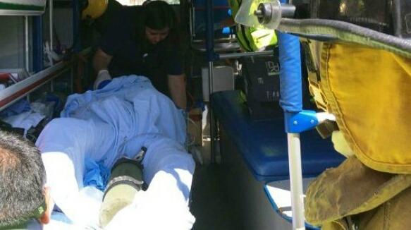 Muere hombre tras ser apuñalado en 10 oriente con 4 norte pleno centro de Talca.