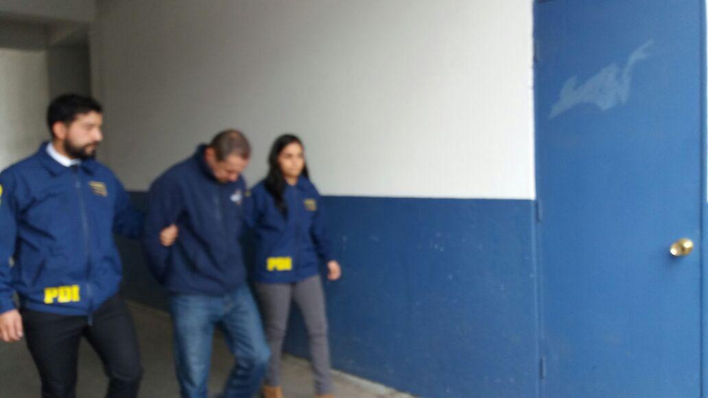 La PDI detiene a colombiano que abusó sexualmente de niña de 7 años hija de su cónyuge en Talca.