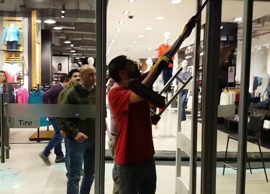 Inédito y millonario robo a tienda Ripley en el centro de Talca